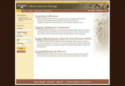 African American Heritage database