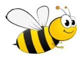 Picture of a cartoon bee